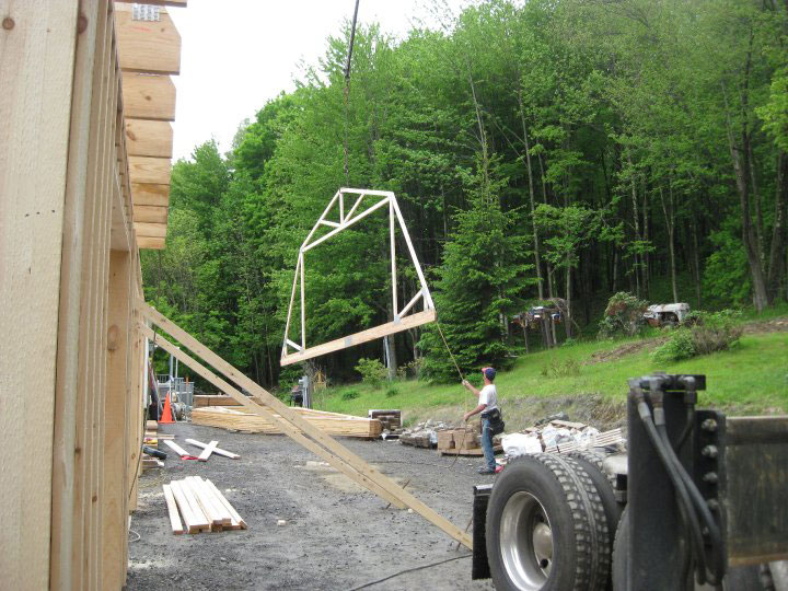 Built On Site Custom Amish Garages In Oneonta Ny
