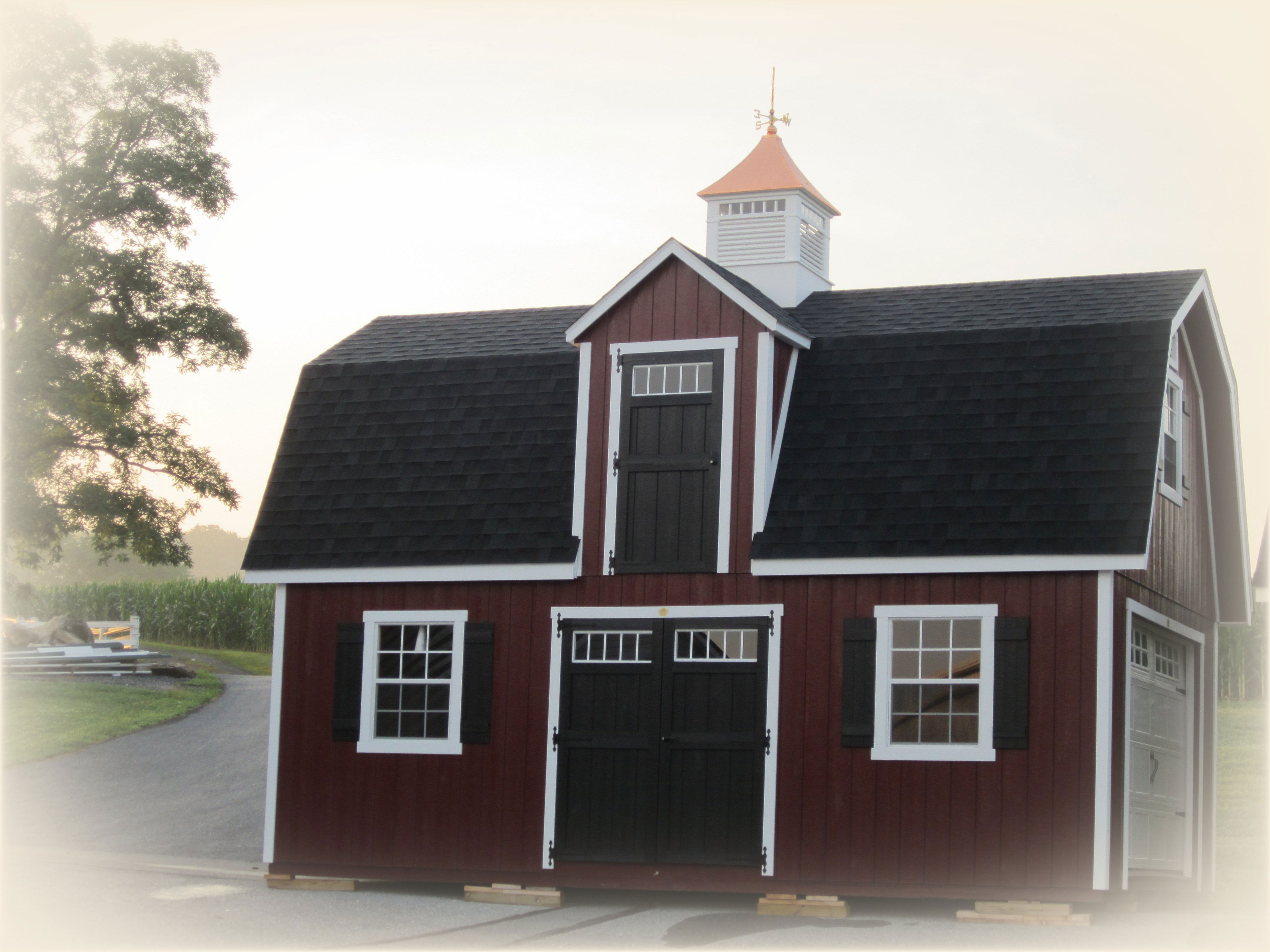Amish Barn Construction & Woodwork in Oneonta, NY | Amish