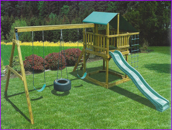 Eagles Nest Swing Set