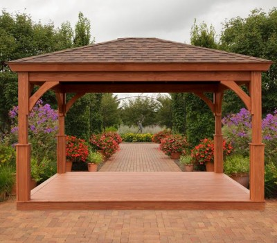 Standard Pavilion Pressure Treated and Stained
