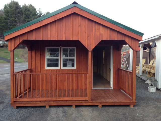 Amish Built Cabins For Sale In Cobleskill Ny Amish Barn