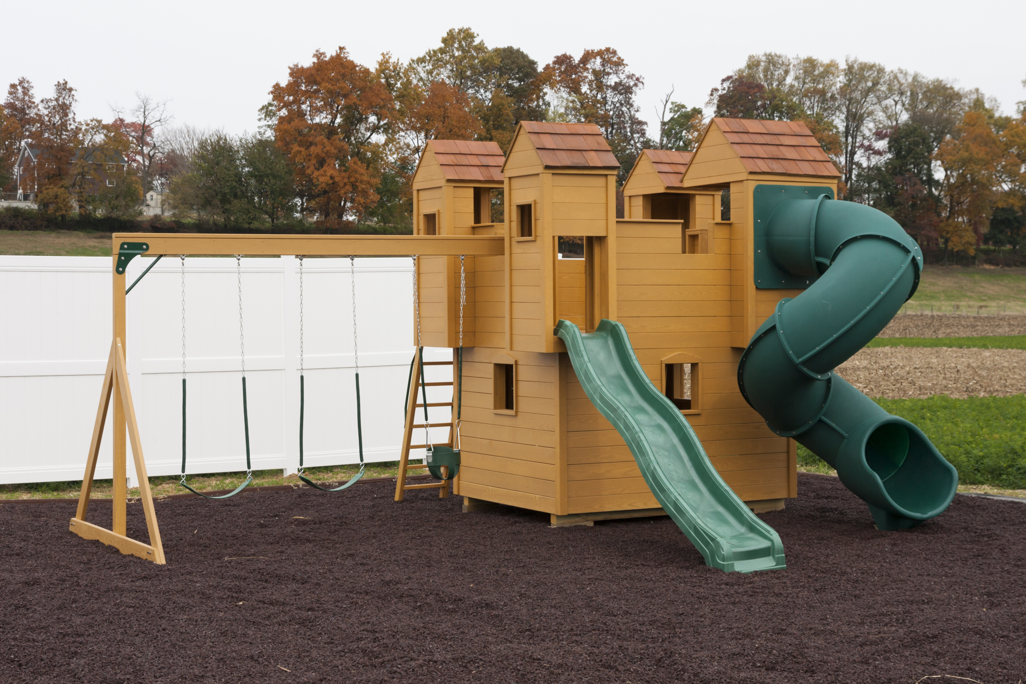 Amish Playhouses & Wood Playgrounds for Sale in eonta NY