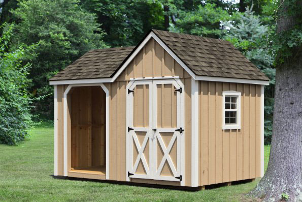 Amish Wood Shed