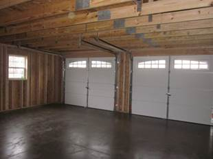 Amish Garages Built on Site in Oneonta NY