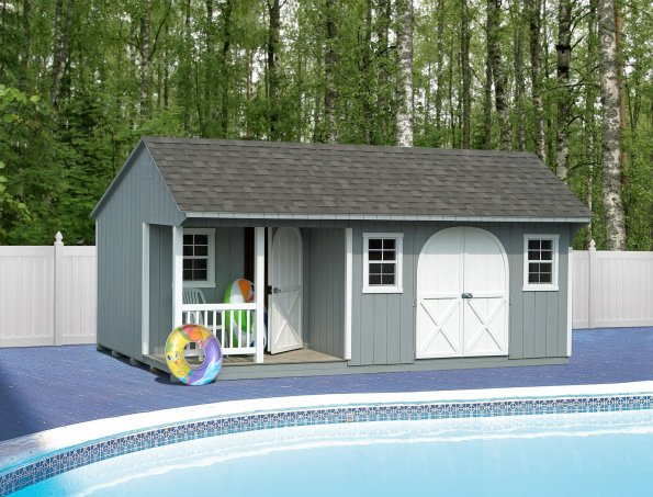 12x20 Poolhouse