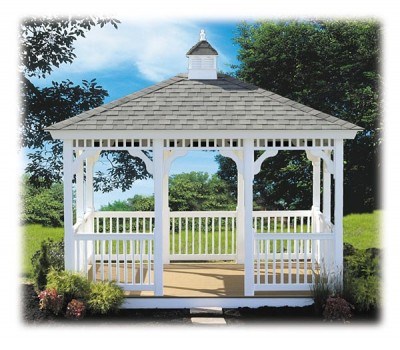 Wooden Amish Built Gazebos for Sale in Oneonta, NY | Amish