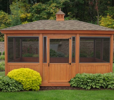 Wooden Amish Built Gazebos For Sale In Oneonta Ny Amish