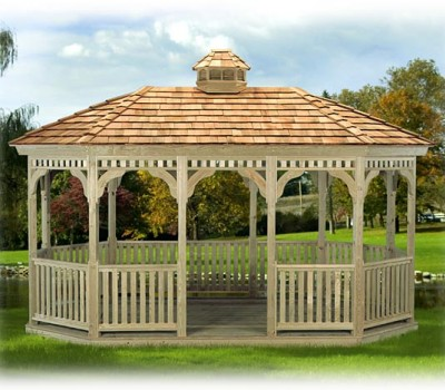 Amish Built Pavilions for Sale in Oneonta NY