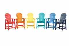 Poly Color Chairs