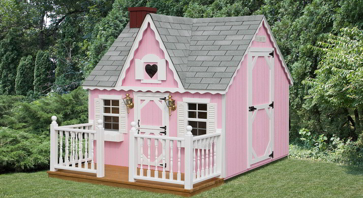 Victorian Backyard Playhouse : Our playhouses are quality They will be there for your kids now, and