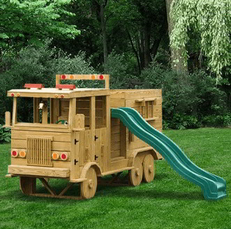 Wooden Amish Playground