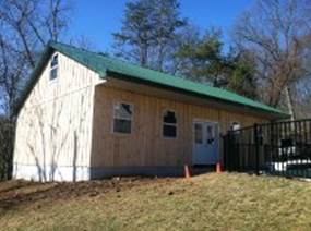 Oneonta ny amish garages pole barns built on site for Amish built pole barn houses