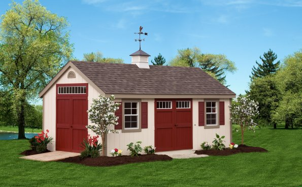 open door red amish shed oneonta ny - Garden Sheds Ny