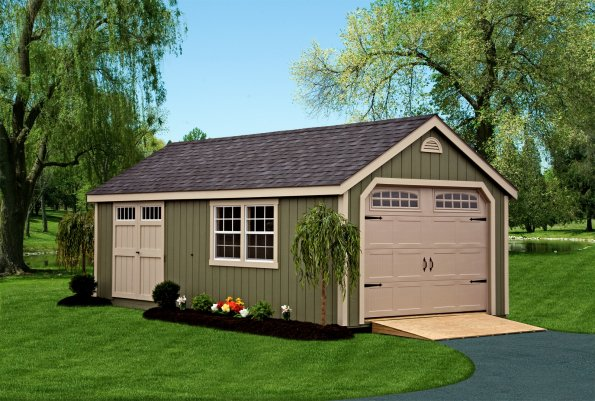 Built On Site Custom Amish Garages In Oneonta Ny: Amish Built Storage Sheds For Sale In Binghamton NY