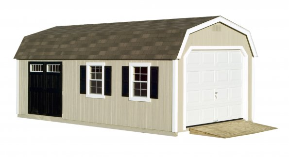 Pre-Fab Amish Wood Garage