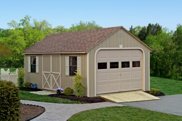 Amish Wood Garages in Oneonta NY