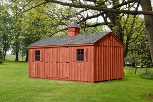 Custom Amish Wood Shed