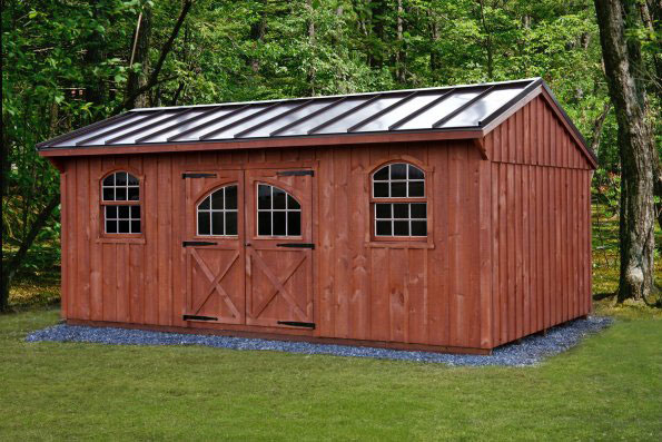 Board & Batton Amish Built Sheds Oneonta NY