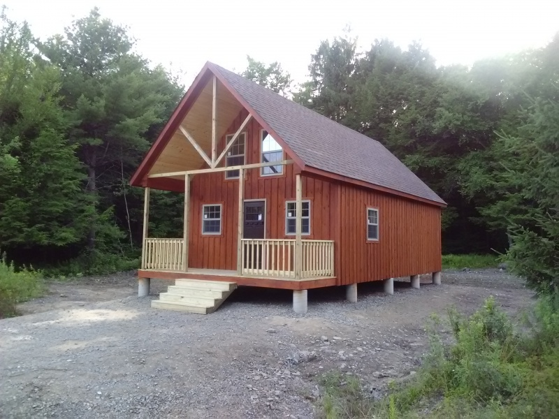 Amish Built Cabins for Sale in Cobleskill NY | Amish Barn Company