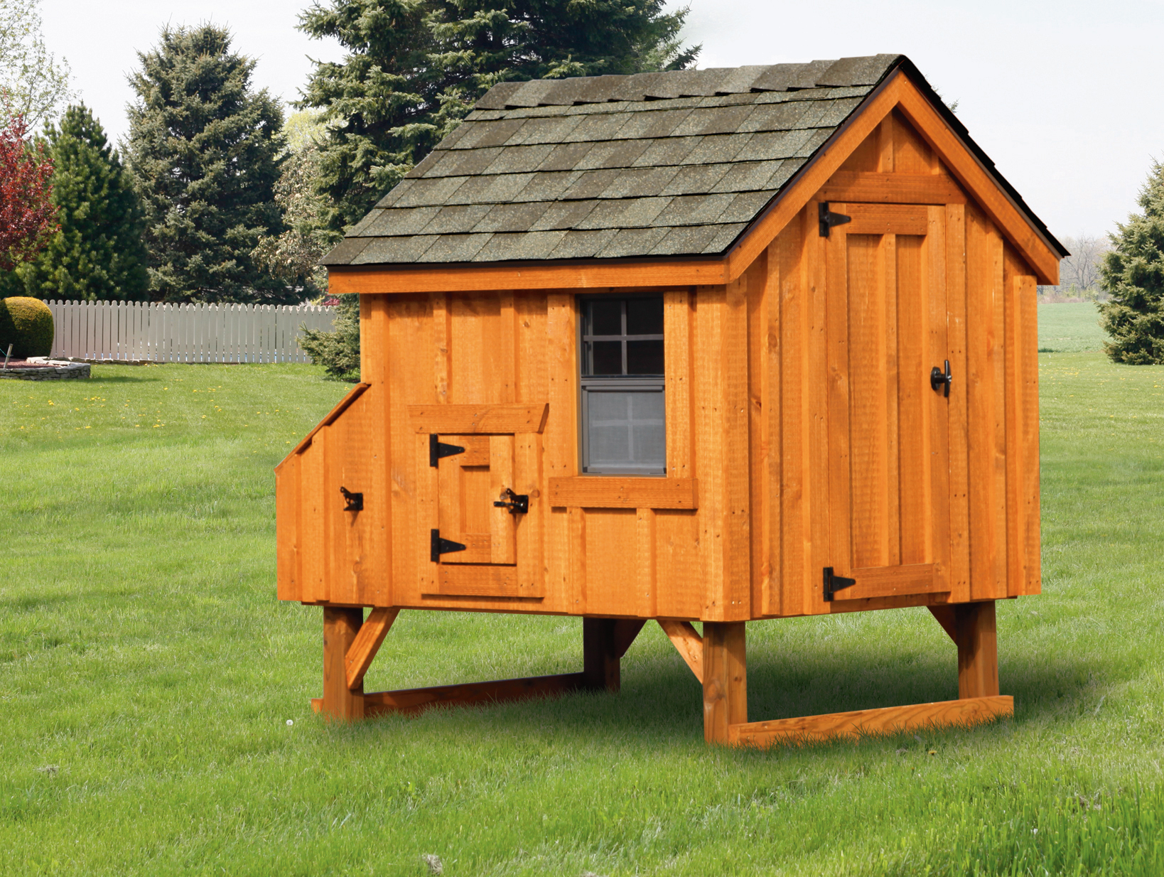 Handmade Chicken Coop in Oneonta NY