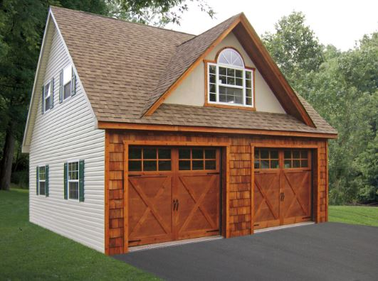 Custom-Built Garage