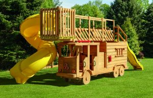 Fire Truck Playhouse