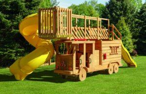 Fire Truck Playhouse