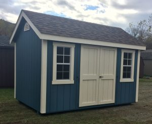 8'x12' Deluxe Cape Cod Amish Shed