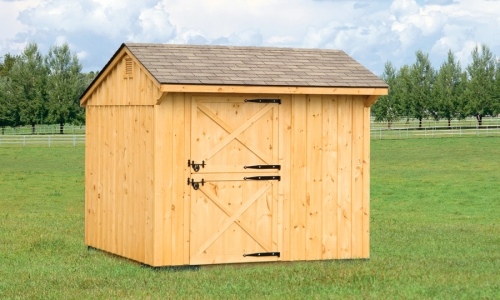 10×10 Stall Barn Closed