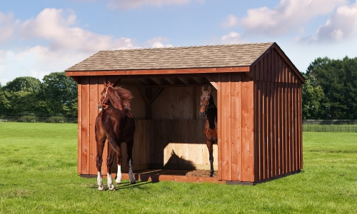 10×14 Run In Shed