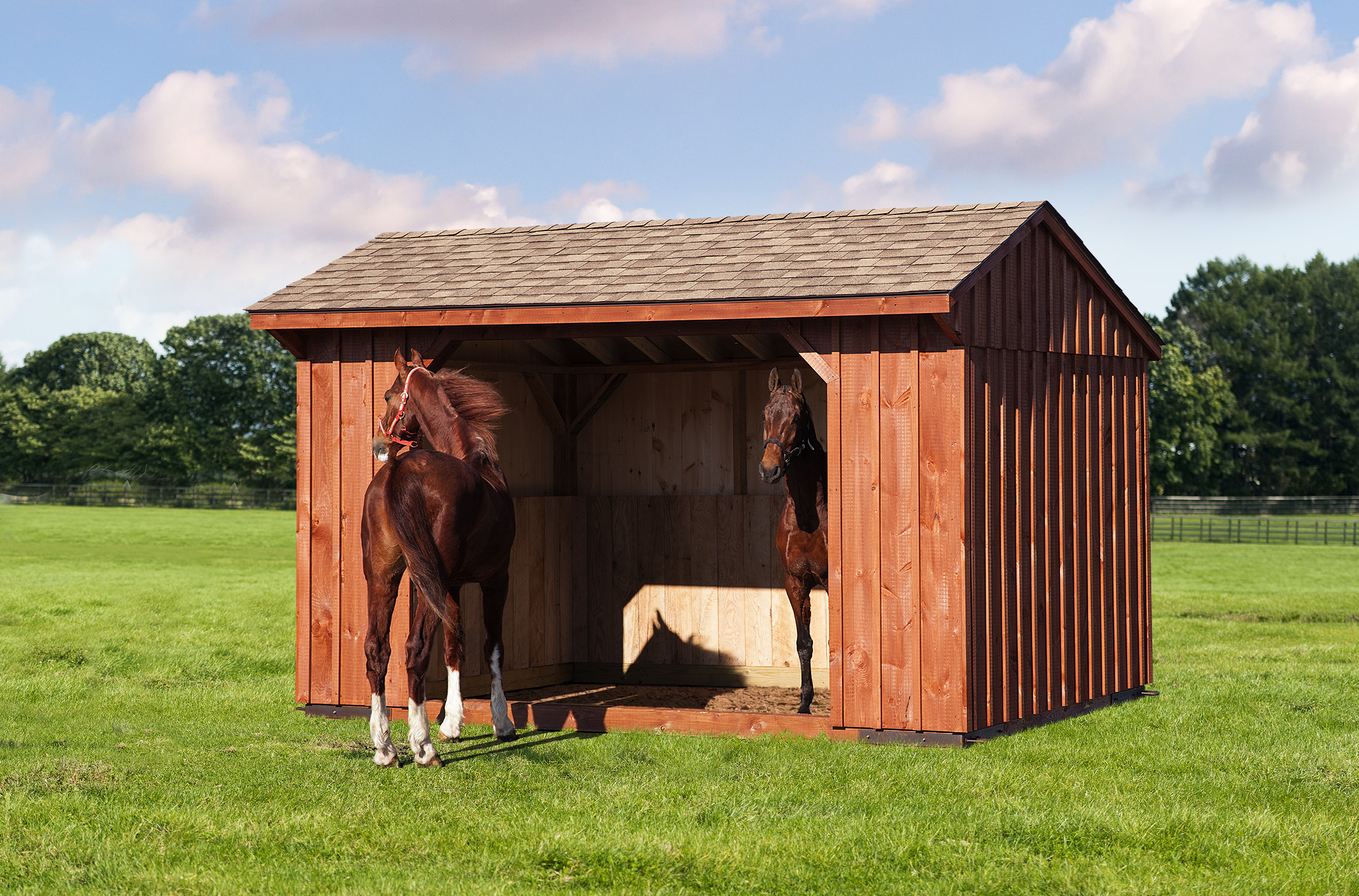 buildings amish portable cover horse barns sheds fisher