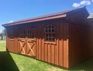 12'x20' Quaker Style Amish Shed