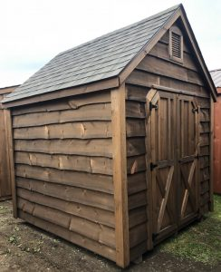 8'x8' Cape Cod Amish Built Shed