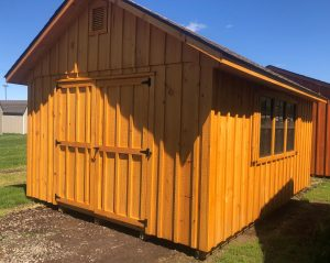 12'x16' Amish Built Manor Shed