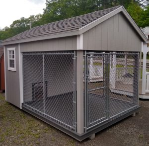 8'x12' Traditional Dog Kennel