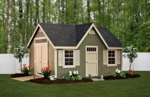 Deluxe Trim Shed