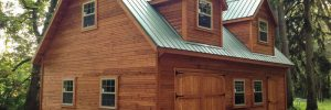 Amish-Built Two-Story Barns in Oneonta, NY