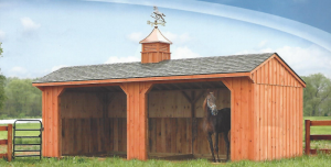 Amish-Built Horse Barns for Sale in Oneonta, NY